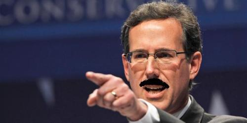 Mr. Santorum cited divine inspiration for prohibitions against spooning, ...